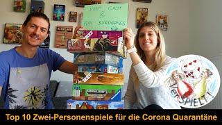 #30 Top 10 Zwei-Personen Spiele für die Corona Quarantäne