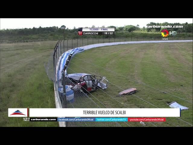 Tremendo accidente en el TC 2000 en Concordia: Mirá el video