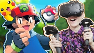 POKÉMON IN VIRTUAL REALITY! | Pokémon VR: Ash's Room