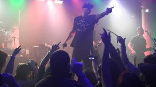 """Down With Webster- """"Big Wheels"""" LIVE Santos NYC 2/1/12"""