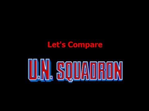 Let's Compare ( U,N, Squadron )