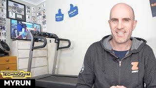My Zwift Run Setup // TechnoGym MyRun Treadmill