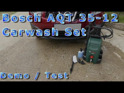 Bosch AQT 35-12 washer - demo test