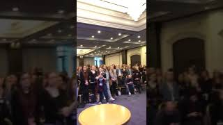 Riverdale Fans In Paris Singing MAD WORLD To Riverdale Cast [RiverCon]