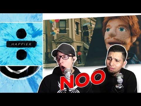 GUYS REACT TO Ed Sheeran  'Happier' (Official Video) (видео)
