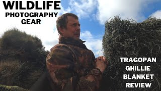 WILDLIFE PHOTOGRAPHY CAMO GEAR | TRAGOPAN GHILLIE SUIT/BLANKET | In the FIELD REVIEW