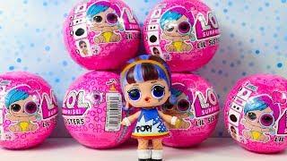 Редкая Кукла ЛОЛ Сестренки Декодер #ЛОЛ Сюрпризы для детей #LOL Surprise Baby Dolls Eye Spy