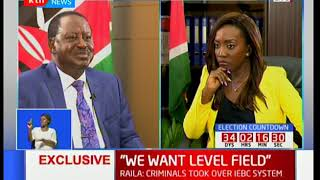 NASA leader Raila Odinga reacts to President Uhuru Kenyatta's impeachment threat