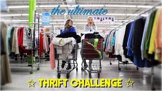 3 thrift stores in 30 minutes… sis went off! (HUGE HAUL)