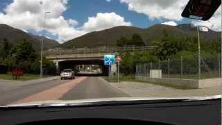 preview picture of video 'Tenero nach Gordemo (Kanton Tessin in der Schweiz)'