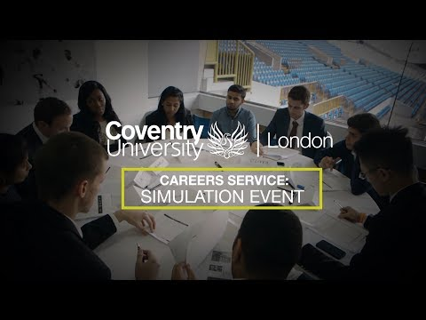 Coventry University London: Simulation Day - Tottenham