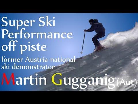 Martin Gugganig Skiing Off Piste with Richard Berger