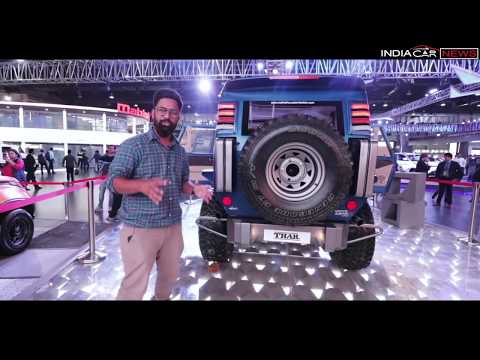 Modified Mahindra Thar Wanderlust First Look Review In Hindi - Auto Expo 2018