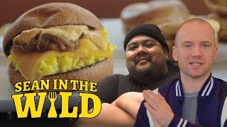 Breakfast Sandwich Taste-Test With Eggsluts Alvin Cailan | Sean In The Wild