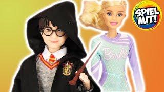 BARBIES neuer Freund? HARRY POTTER PUPPE Mattel deutsch   Gryffindor Doll inkl. Zauberstab & Umhang