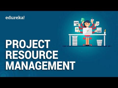 Project Resource Management | PMP Certification | Edureka