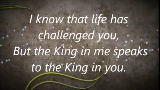 Donald Lawrence - There is a King In You - w/ Lyrics