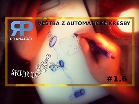 Sketch #1.6 - věštba z automatické kresby