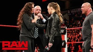 Ronda Rousey gets her WrestleMania match: Raw, March 5, 2018 - Video Youtube