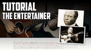 Guitar Tutorial: The Entertainer by Scott Joplin (arr. by Richard Smith)