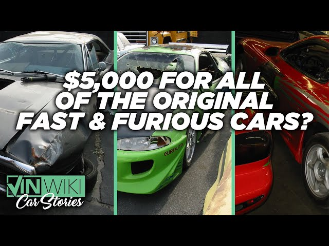 I found ALL the original Fast & Furious cars for $5,000!