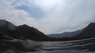 九州の穴場ビーチ!大分県蒲江の波当津海水浴場の水中映像
