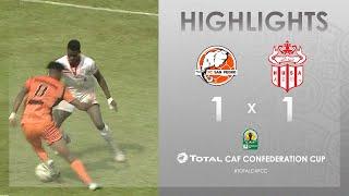 CC CAF : FC San Pédro 1-1 Hassania Agadir