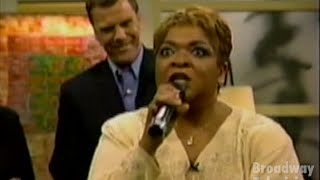 Nell Carter - Annie 1997 Medley (Fox After Breakfast 15-Apr-1997)