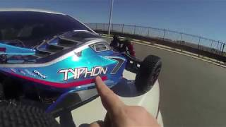 Arrma Typhon Stock Out Of The Box 4s Speed Run