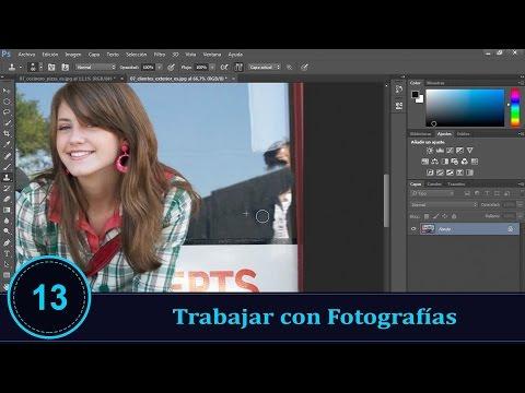 Diseño Gráfico Trabajar con Fotografías Photoshop parte 13