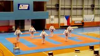 North Korea DPRK Taekwon-do ITF Demo.
