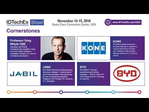 IDTechEx Show! USA November 14-15, 2018 Event Overview