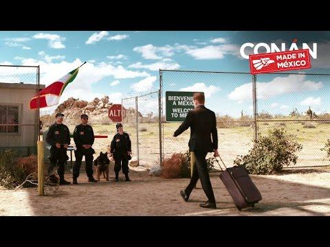 Conan v Mexiku #1: Přechod hranic a monolog ve španělštině