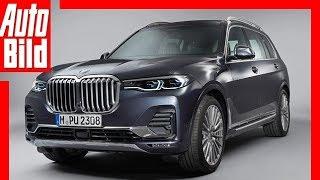 BMW X7 (2018) Sitzprobe / Review / Test