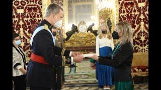 Presentación Carta Credencial embajadora Hungría
