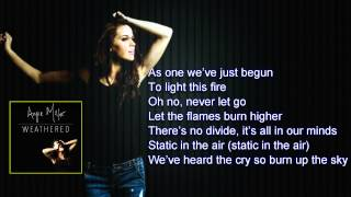 Angie Miller - Universe Electric Official Lyric
