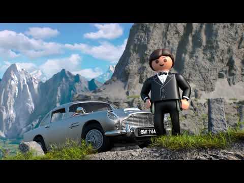 Vidéo PLAYMOBIL Aston Martin 70578 : James Bond Aston Martin DB5 - Édition Goldfinger