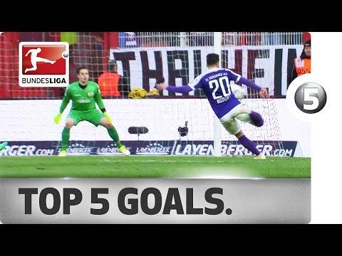 افضل 5 اهداف بالجولة 27 بالدوري الالماني