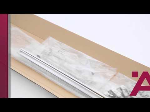Ein Schrank drei Öffnungsarten - Falttür-Lösung // Folding Sliding Door