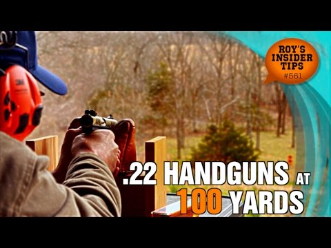 .22 Handguns At 100 Yards