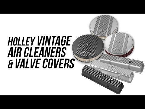 Holley Vintage Air Cleaners & Valve Covers