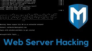 Gaining Access - Web Server Hacking - Metasploitable - #1