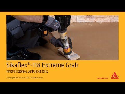 Sikaflex 118 Extreme Grab
