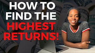 5 Places to Put Your Money! Best Short Term Investments 2020