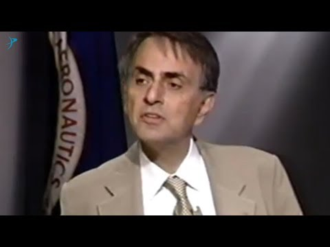 Carl Sagan Unveils the Pale Blue Dot