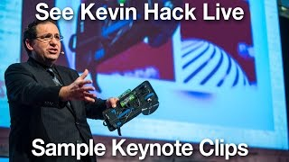 Kevin Mitnick   Sample Speaking Clips and Hacks You