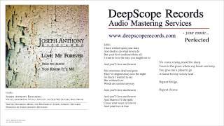 Joseph Anthony Ricciardo - Love Me Forever (Music, Credits and Lyrics)