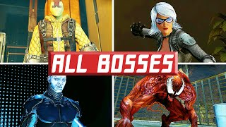 The Amazing Spider-Man 2: (All Bosses)