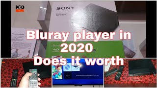 sony blu-ray player bdp s1500 Unboxing | Cheapest Sony blu-ray player under 7000 inr