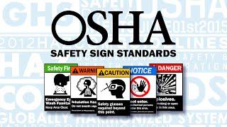 OSHA/ANSISafetySignStandards